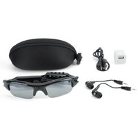 Spy Hidden Sunglasses Camera 4 en 1 gafas de reproductor MP3 gafas ocultas Cam Sports DVR Recorder Photo Tomar para la recreación al aire libre
