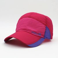 Wholesale Colour Matching Pink - New Fashion Casual Baseball Cap Wholesale Ultrathin Colour-Matching Quick Drying Outdoors Sports Cap Men And Women Mountaineering Sun Hat
