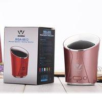 Wholesale Sound Card For Desktop - Wholesale WSA-8613 Bluetooth Speakers Mobile phone calls Private model Multifunctional Portables Speakers 2018 NEW Desktop mini speakers