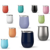 Wholesale China Coats Wholesaler - Hot Creative Drinkware 9 oz HTX Egg Cup Powder Coated Wine Glass Stainless Steel Vacuum Insulated Beer Mugs HTX Egg Cups