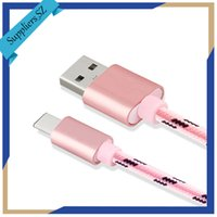 Wholesale Rose Connector - Type-C Data Cable for Huawei and Mi Phone Dedicated USB C Connector Braided Line OEM Service