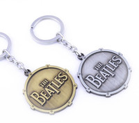 vender chaveiro venda por atacado-Os Beatles Europa e os Estados Unidos vendem o chaveiro de logotipo dos Beatles comércio exterior pingente de liga de atacado