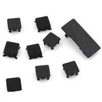 Wholesale 9 in Rubber Feet Cover Set Plastic Bottom Screw Caps Spares set For Playstation PS3 Slim