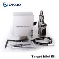 пробные мини-комплекты оптовых-Authetnic Vaporesso Target Mini Kit 1400 мАч Target Mini 40W Mod Встроенная батарея с 2 мл Tankt Target Pro Kit для хранителя