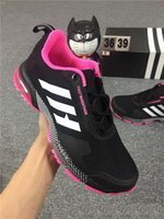 Wholesale Male Trends - Free shipping Outdoors Sport Shoes For Male Fashion Trend Fly Line Design Men and women Trainers Shock Resistance Air Cushion Marathon Run