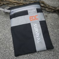 Wholesale Survival Water Bags - PVC outdoor case EDCGEAR water sport bag Hot sale EDC hiking trip survival daily carry pouch Black gadgets