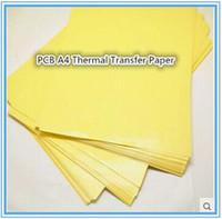 transfer yapmak toptan satış-Wholeselling 100 adet / grup PCB A4 Termal Transfer Kağıdı / Kurulu Yapma Termal Transfer Kağıdı