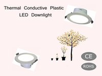 vendita calda Thermal Conductive Plastic LED downlamp 3 pollici