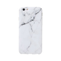 Wholesale iphone pink silicone case online - Fashion Marble Phone Case For iPhone Plus S Plus S Plus Cover Silicone Matte Back Coques Soft TPU Ultra Thin Protector