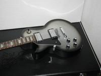 tienda de guitarras eléctricas zurdas. al por mayor-Custom Shop Sliver burst Guitarra eléctrica zurda Venta al por mayor Guitarras Envío gratis