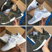 Wholesale Cargos Woman Lowers - NMD XR1 Cargo Camo Olive Green DUCK CAMO Core Black Red With Box Wholesale Running Shoes Men and Women Size free shipping