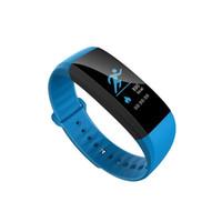Wholesale Heart Monitors For Women - M99 color Smart Wristband M99 Smart Bracelet Women Men Heart Rate Monitor Bluetooth Smartband Pedometer Sports Fitness Band Waterproof