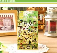 Wholesale Wholesale Stickers For Scrapbooking - high quality kawaii Japan cartoon totoro clear PET material sticker for scrapbooking