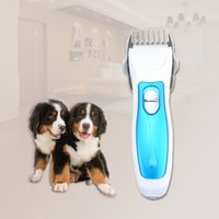 Wholesale Low Noise Cat Hair Clipper - 100-240V AU Plug Professional Rechargeable Low Noise Electric Pet Animal Dog Cat Clipper Hair Trimmer Hairdressing Tool
