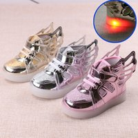 Wholesale Wholesale Shoes Wheels - Children Shoes With Led Lights Kids Roller Athletic Shoes With Wheels Wear-Resistant For Boys Girl Sneakers