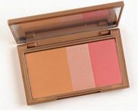 Wholesale Wholesale 14g - Flushed Blush Palette,3 Colors Makeup Blusher Bronzer & Highlighter & Blush 3 in 1 Make up Pallete 14g
