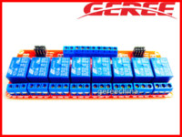Wholesale Module For Gsm - 8 Channel DC 5V Relay Module Shield Board For Arduino Optocoupler 2pcs lot module oem module gsm