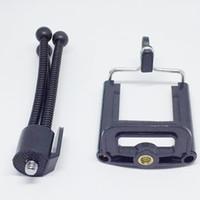 mobil için üniversal tripod ayaklığı toptan satış-Evrensel Esnek Mini Tripod Taşınabilir Ahtapot Cep Telefonları Kameralar Kamera Için Montaj Braketi Tutucu Monopod Standı