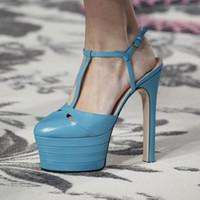 Wholesale High Heels 16 Cm - Plus Size 43 sexy spring summer woman high heel pumps 2017 new designer 16 CM super heels platform shoes wedding dress evening party shoes