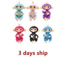Wholesale Wholesale Hot Monkey - XS NEW HOT Colorful Monkey Tip Finger Toys Pet Baby Girl No Function Children's Toys Wholesale