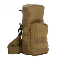 Wholesale Molle System Pouches - Climbing Hiking Sports Oxford Cloth 600D Camping Water Bag Outdoor Tactical Military Molle System Water Bottle Bags Kettle Pouch Holder