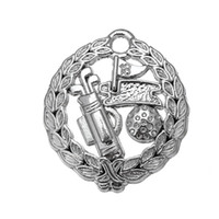 Wholesale Golf Charms Jewelry - My Shape Polished Golf Theme Pendant Sports Charms Zinc Alloy Rhodium Plated  18k gold Plated Pendant for Jewelry making