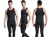 Wholesale elastic men undershirt for sale - Group buy Fashion Men Tank Tops Elastic Man Vest O Neck Singlet Casual Wear Clothes Undershirt Quick Dry Shirt Good Quality B548
