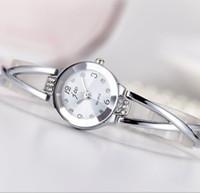Wholesale Watch Brand Korea - New JW Brand South Korea Trend Small Round Rose Gold Watch Bracelet Watch Women Fashion Watches Women Brand