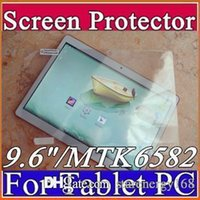 "Wholesale Mtk6589 Inch Screen - Original Screen Protective Film Protector Guard for 9.6"" 9.6 inch MTK8382 MTK6589 MTK6592 Android 3G Phablet Tablet PC F-PG"