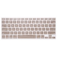 Silicone Anti-dust Ultra-thin Laptop Keyboard Protective Film Cover Sticker Pele US Layout para MacBook Pro 13.3