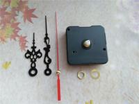 Wholesale Hands Quartz Clock Movement Kit - Quartz Clock Movement Kit Spindle Mechanism shaft 13mm with Hands