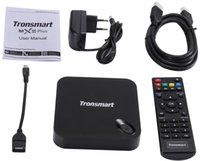 Nouveau Tronsmart MXIII Plus 2G / 8G Amlogic S812 Quad Core 2.0GHz Android TV Box 4K H.265 XBMC OTA 2.4G / 5GHz double WiFi IPTV Media Player
