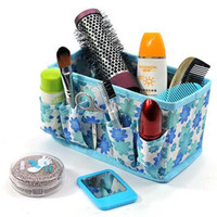 Wholesale Multifunction Folding Makeup Cosmetics Storage Box Organizer Container Case