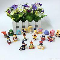 Wholesale Toy Cartoon Clowns - Cartoon animal clown Mini Action Figures Gashapon Gachapon Capsule Toys Mini Figures Cute for children Christmas Gifts