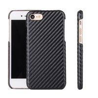 Wholesale iphone case synthetic for sale – best 50pcs Synthetic Fiber Cover Luxury Weaving Pattern Soft Back Case for iphone plus for Samsung s7 s7 edge Mobile Phone Case