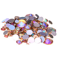 Wholesale Topaz Rhinestone 4mm - Light Topaz AB Acrylic Rhinestones For 3D Nails Art 4mm 5mm 6mm 10mm And Mixed Sizes Glue On Stones DIY Crafts Designs