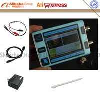 Wholesale Arbitrary Color - Wholesale-Color LCD touch screen DDS Signal Generator Arbitrary waveform generator Function generator 80MSa s 10MHz New English version