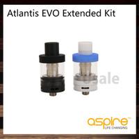atomizador de doble tanque al por mayor-Aspire Atlantis EVO Tank Atomizador de llenado superior 2 ml Versión estándar Versión estándar 4ml con bobinas Atlantis EVO 100% original