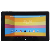 android tablet pc-fenster großhandel-10,6 Zoll Tablet Cube i10 Doppel-Boot PC Android Windows 10 2 GB / 32 GB Intel Z3735F Bluetooth 1366 x 768