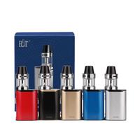 ingrosso kit mini starter elettronico-MINI ECT C30 kit e scatola di sigarette mod vape mod met atomizzatore 2.0 ml vaporizzatore 1200 mah starter kit di sigarette elettroniche DHL libero