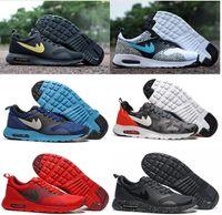 Wholesale Max 87 Men - Drop Shipping Wholesale Running Shoes Men Women Thea Print 87 Cheap Sneakers High Quality MAXes 87 Fashion Sports Shoes Size 40-45