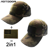 Wholesale Hat Forces - VC-09 Men Women Baseball Cap with patch 2 in 1 Tactical Cap Sun Hat Outdoor Hunting Camping special forces Ghost Commando Tactic Hat