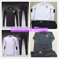 Wholesale Germany Suits - 2018 New Germany Soccer Training Suits Manuel Neuer Uniforms Shirts Football Camiseta de Futbol Hummels Reus Winter Survetement Tracksuits