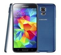 Wholesale S5 Android 3g - Original Samsung Galaxy S5 G900F G900P G900V G900A G900T With Original Battery Quad Core 2GB 16GB 4G 3G Refurbished Unlocked Phone