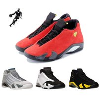 Wholesale Mesh Fusion - 2016 high quality air retro 14 XIV Basketball Shoes men Fusion Purple Black Red Air retro 14 Playoffs Sneakers Eur 41-47