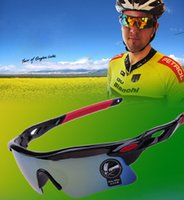 Wholesale Explosion Proof Sunglasses - 12 color sunglasses for men Bicycle glass summer outdoor Sunscreen glasses newest style Explosion proof colorful UV400 hight quality glasses