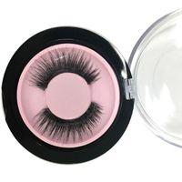 Wholesale Lashes Box - Make Up Tools False Eyelash Handmade Magnetic Eyelashes for Women Beauty Custimized Box 1 Pair Drop Shipping