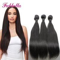 Wholesale Hair Weave Wholesalers China - 10A Straight Brazilian Hair Indian Perivian Malaysian Hair 2016 China Hair Extensions Free Shipping on sale Virgin Hair Bundles Weave Online