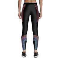 Wholesale Womens Capris Xl - Womens Work Out Print Sports Fitness Yoga Pants Ladies Fashion Digital Printing Active Elastic Slim Bodycon Trousers Ankle-Length Pants 4XL