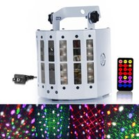 High Power 30W LED Stage Light Laser Lighting Ativado por voz DMX RGB Crystal Magic Ball Effect Effect Lights for DJ Culb Party
